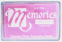 Memories Embossing Ink Pad