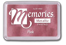 Memories™ Metallic Pigment Ink
