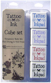 Tattoo Ink Cube Package