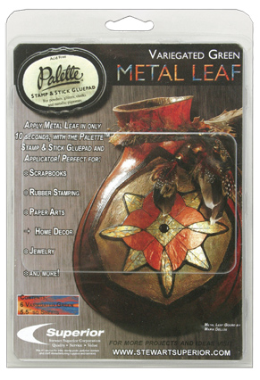 Stamp and Stick Metal Leaf Kit